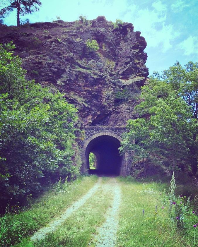 ancienne voie de chemin de fer cévennes