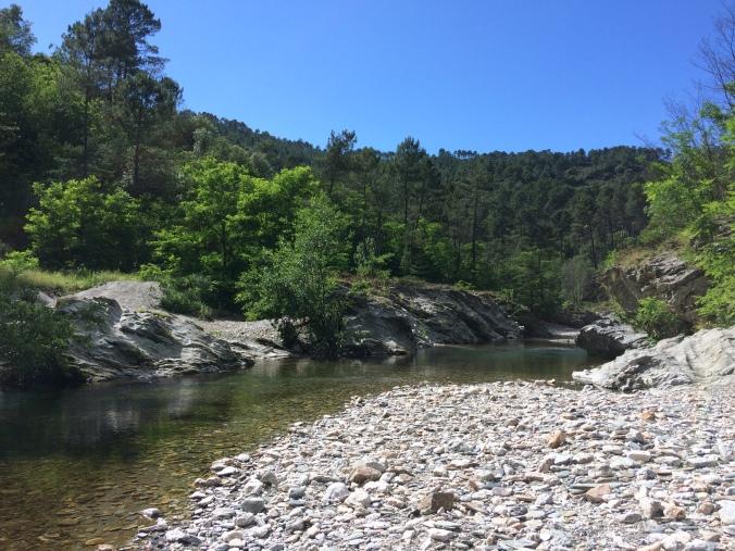 ruisseau randonnée cévennes