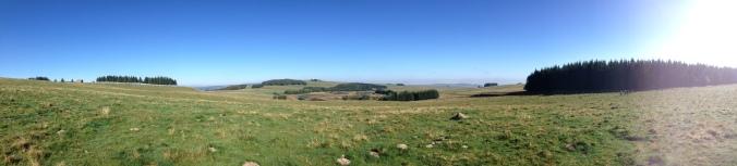randonnée des monts d'Aubrac