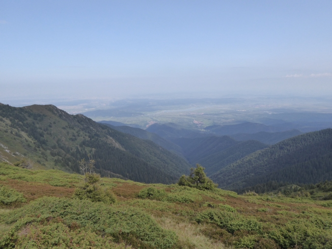 trek randonnée carpates roumanie
