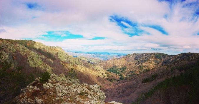 Sentier crêtes Occitanie