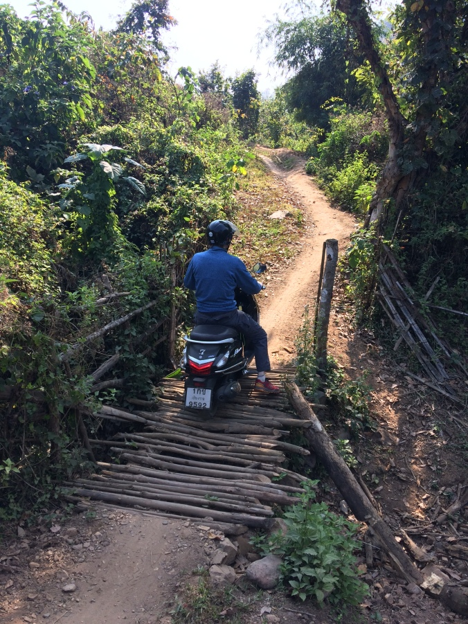 Kok river thailande route