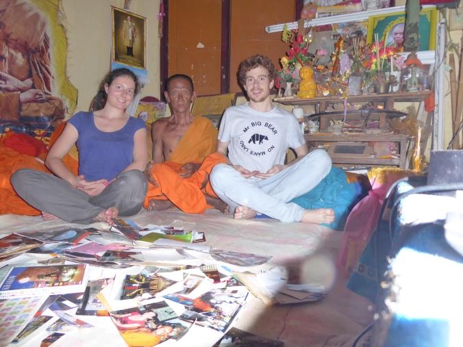 moine bouddhiste Thailande