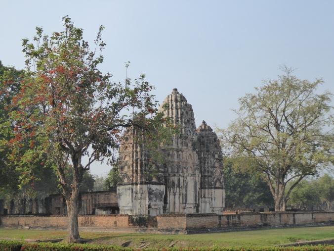 visite des temples Sukhotai