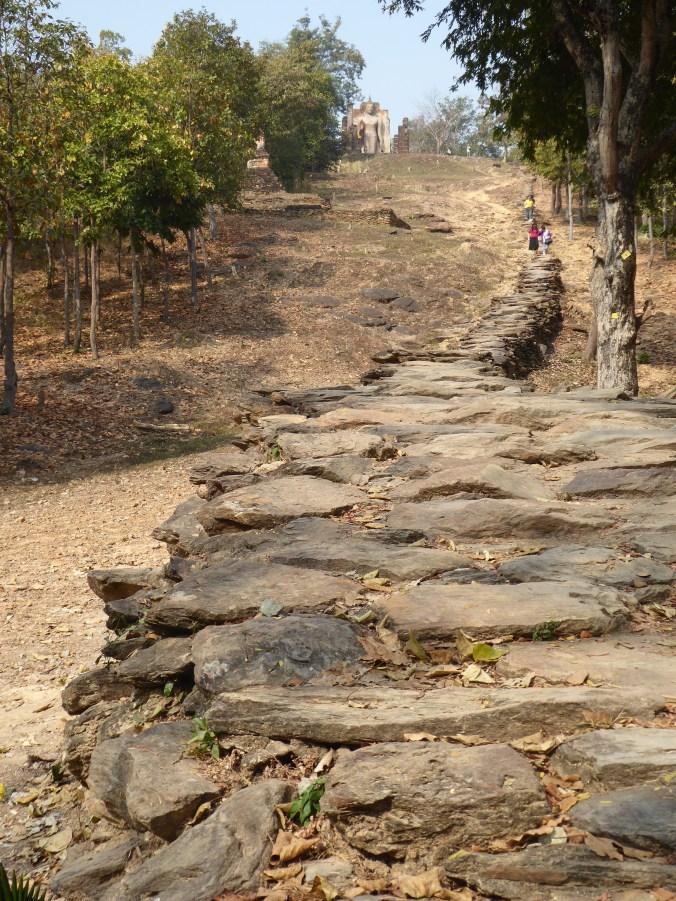 visite des temples de Sukhotai à vélo