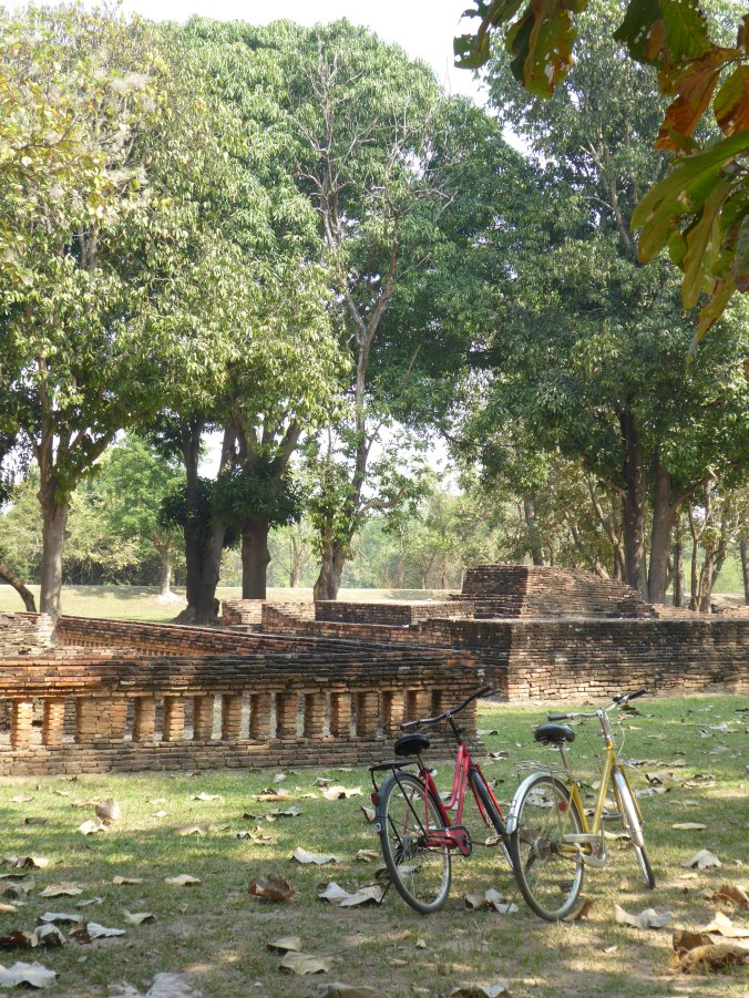 ruines et temples Sukhotai Thailande
