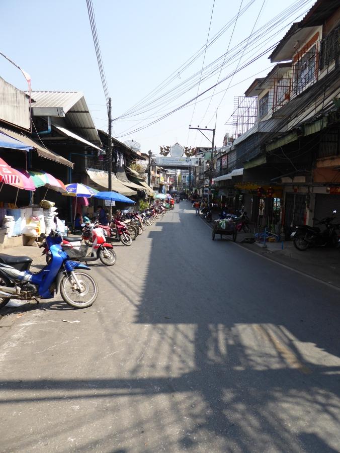 moto nord de la thailande
