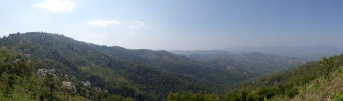 nord de la thailande montagnes