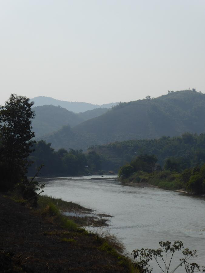 triangle d'or nord thailande rivière