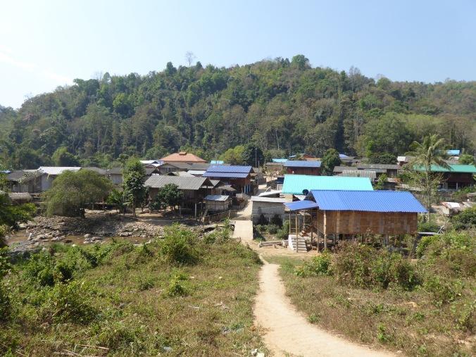 randonnée triangle d'or thailande